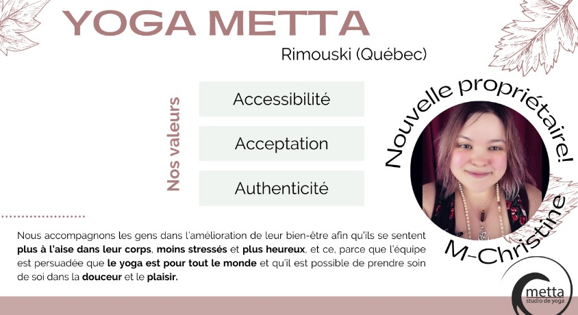 YogaTribes Studio Profile | Rimouski